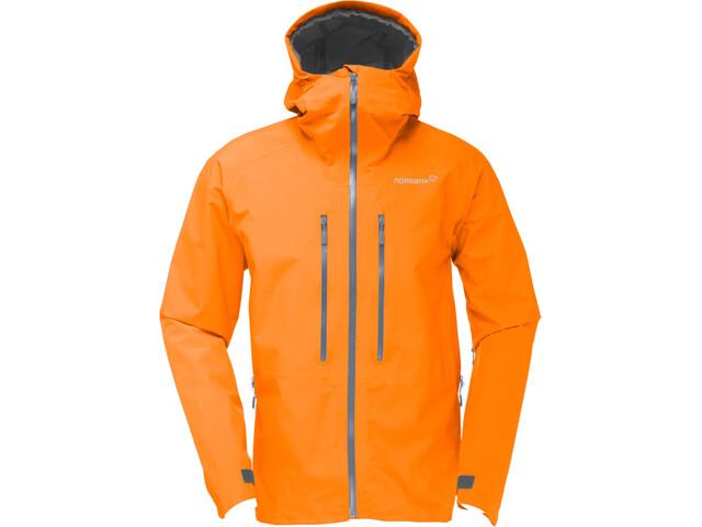 Norrøna Trollveggen Gore-Tex Light Pro Jacket Herr Pure Orange